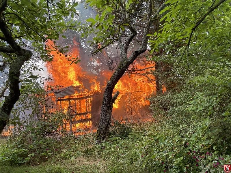 Brandeinsatz B3